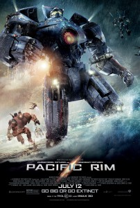 A poster for 'Pacific Rim.' Directed by Guillermo del Toro.