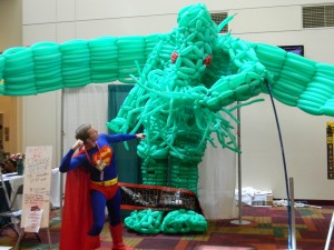 With Superman (me) here, we stand a chance against the evil Elder God!