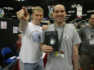 "My first ""Chidlren of the Wells"" buyer! His name is Sean Steele (which sounds like the name of a hero in a book)."