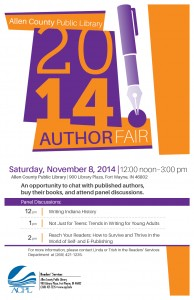I'll be here with my friend/fellow author/collaborator Nick Hayden.