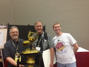 Meeting Trace Beaulieu and Crow T. Robot from MST3K.